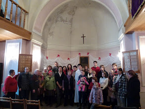 Photo: A congregation of the Evangelical Lutheran Church of Ingria in Moscow, Russia.