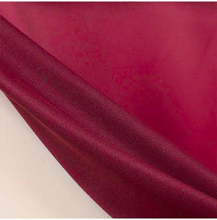 Mörkläggningstyg Struktur - vinröd