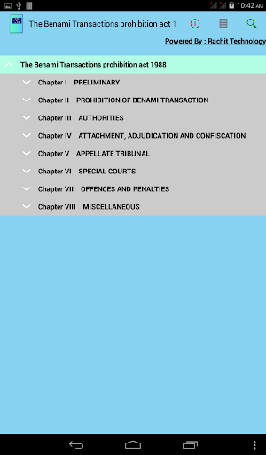 The Benami Transactions act