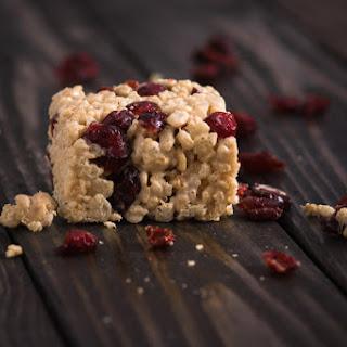Cranberry Rice Krispies Recipes