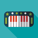Let's share! Piano icon