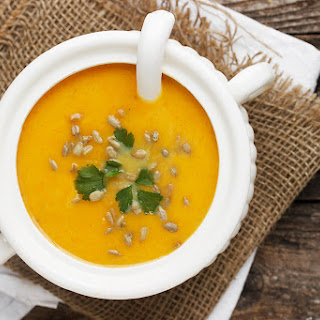 Simply Perfect Roasted Butternut Squash Soup.