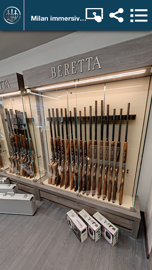 Beretta App- screenshot