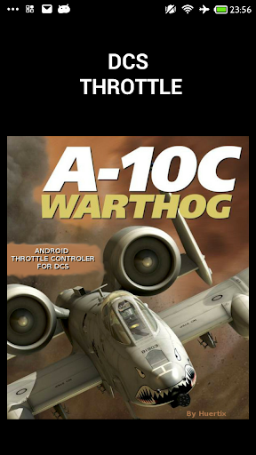 DCS A10C Throttle