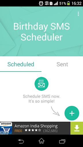 Birthday SMS Scheduler