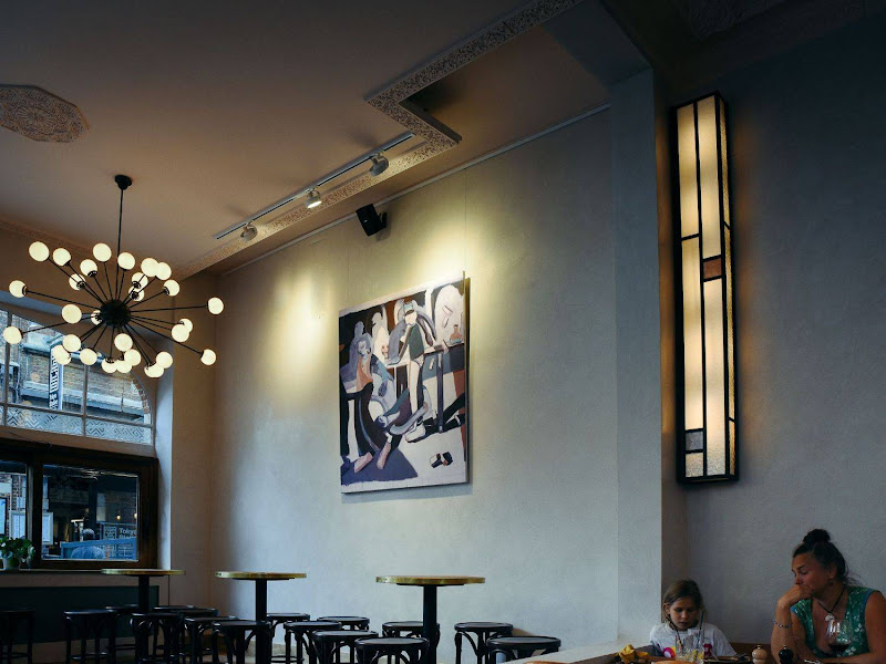 Sud Sud - Bistro sud sud, foto: Tom Herbots, verlichting Atelier Night Light