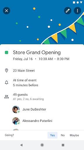 Google Calendar 6.0.0-213980623-release screenshots 2