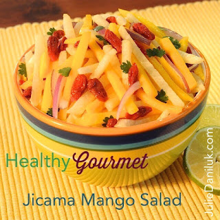 Fresh & Crisp Jicama Mango Salad