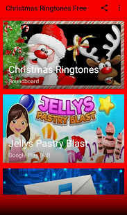 screenshot image - Christmas Ringtones Free