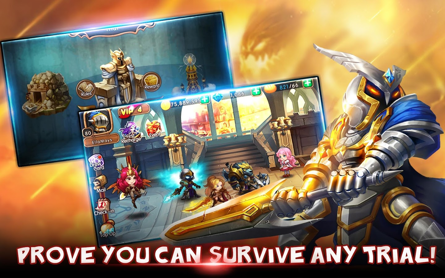 Screenshots of League of Angels -Fire Raiders for iPhone