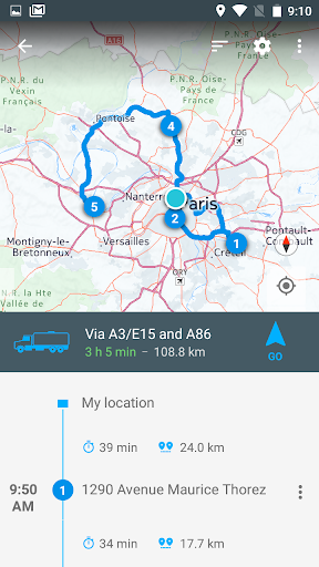 NavMeTo GPS Truck Navigation pt-1.2.2 screenshots 5