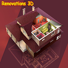 Renovations 3D icon