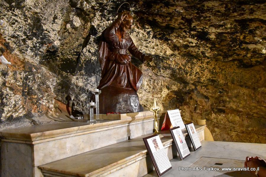Грот в Монастыре Стелла Марис, Хайфа, Экскурсия Светланы Фиалковой