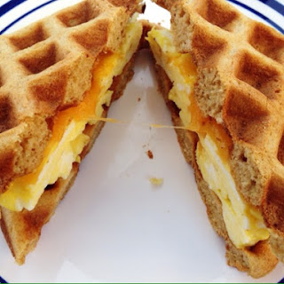 Waffle Scramble Sandwich