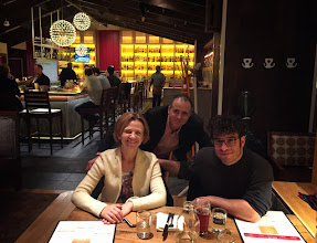 Photo: Atar Trio - View from Mt Nebo - USA Tour 2015 - Dinner at Wshington DC after a concert