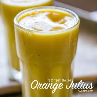 Homemade Orange Julius Smoothies