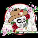 Mexican Sugar Skull Keyboard Themes icon