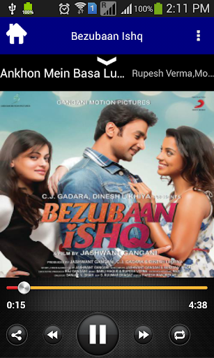 Download Bezubaan Ishq Movie Songs Google Play softwares