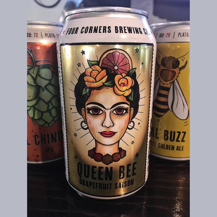 Logo of Four Corners Queen Bee Grapefruit