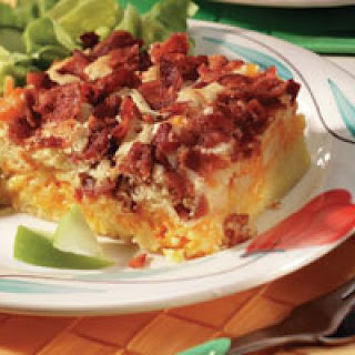 Cheesy Apple Bacon Brunch