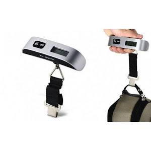 Cantar portabil cu display si termometru - Greutate maxima 50 kg