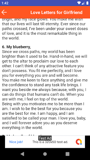 The Sweetest Love Letter from lh3.googleusercontent.com