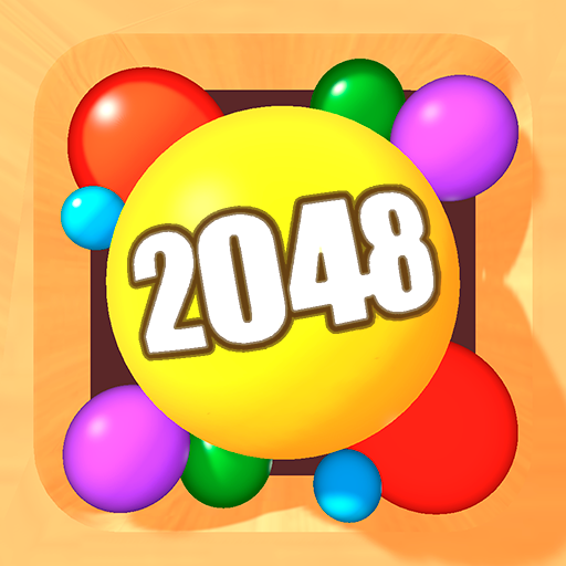 2048 Balls 3D Icon