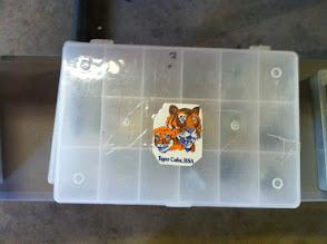 Photo: Leatherwork stamp set Tiger
