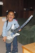 Photo: jammin on the guitar!