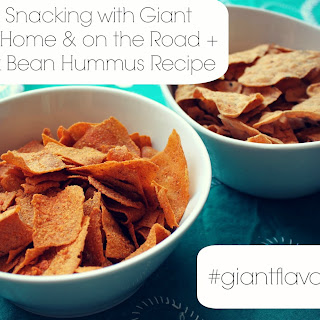 Family Snacking at Home and on the Road + My Black Bean Hummus