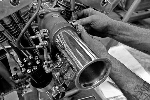 Injection Hilborn pour Harley Davidson.