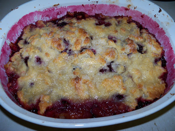 Low Sugar Blackberry Cobbler Recipe