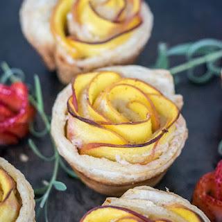 Pretty Rosette Peach Tartlets