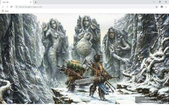 Pathfinder New Tab & Wallpapers Collection