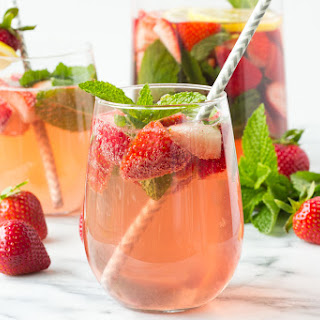 Strawberry Mint Sangria Recipe