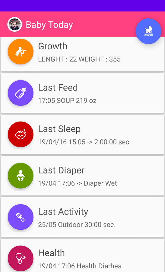 Baby Care & Tracker- screenshot