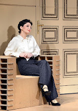 Photo: DAS KONZERT von Herrmann Bahr. Wiener Akademietheater - Premiere 7.2.2015. Inszenierung: Felix Prader. Regina Fritsch. Copyright: Barbara Zeininger