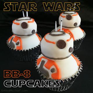 Star Wars BB-8 Cupcakes