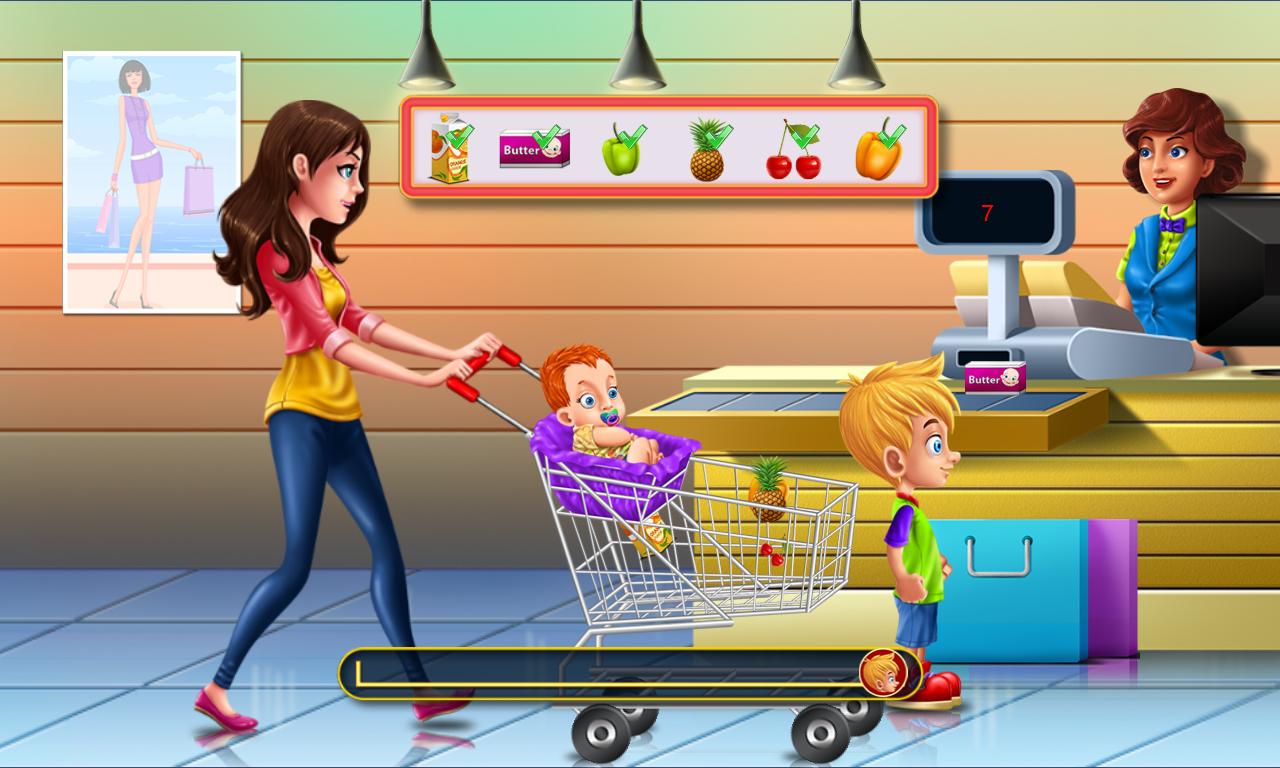 Shopping online games for kids