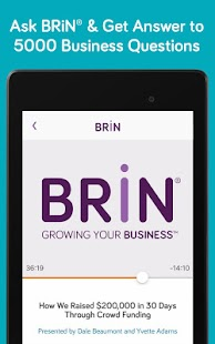 BRiN® - Growing Your Business™- screenshot thumbnail