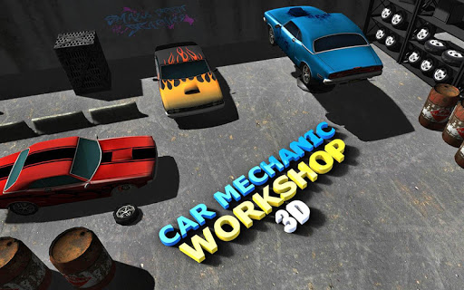 Sports Car Mechanic Workshop 3D 1.5 13