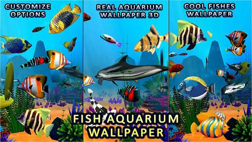 Fish Aquarium Live Wallpaper 3D Screensaver Free Screenshot 13