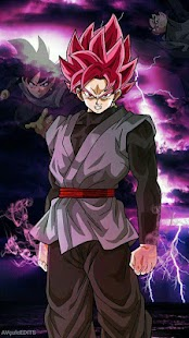 Black Goku Wallpaper HD - náhled