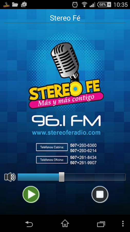Stereo Fé- screenshot