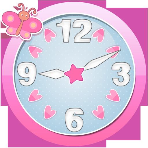 cute clock widget aplikacije na google playu