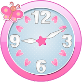 Cute Clock Widget