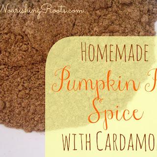 Pumpkin Pie Spice with Cardamom
