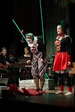 Photo: Kirppusirkus -musikaalin väkeä / People from the Kirppusirkus (flea circus) musical