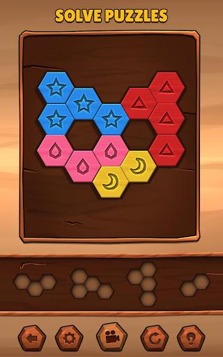 PC u7528 Hexa Wood Puzzle 2