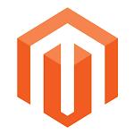 Magento logo -left